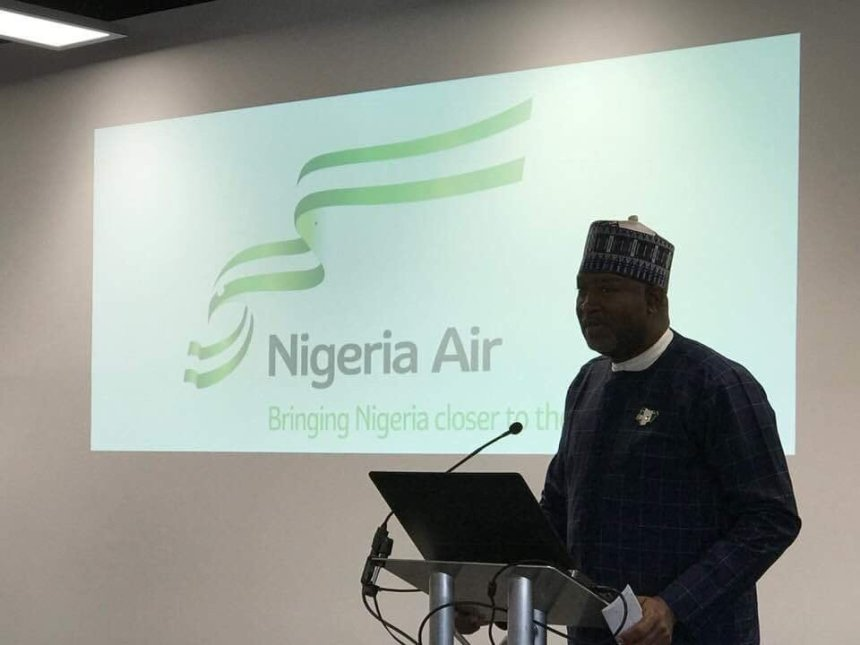 Image of Nigeria Air, Hadi Sirika