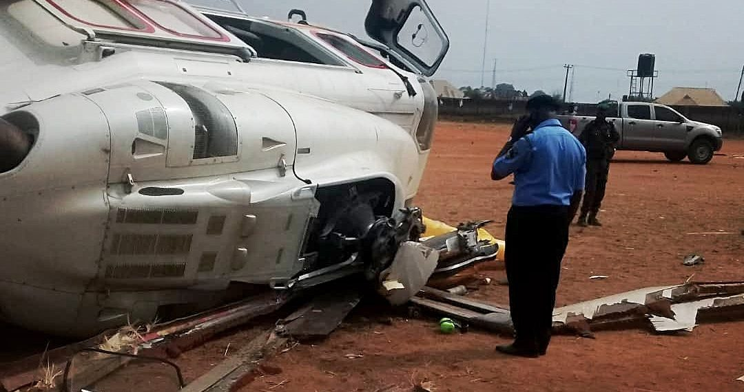 Image of Osinbajo Helicopter Crash