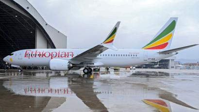 ART condole with Ethiopian Airlines