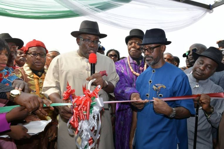 Seriake Dickson inaugurates Bayelsa International Airport