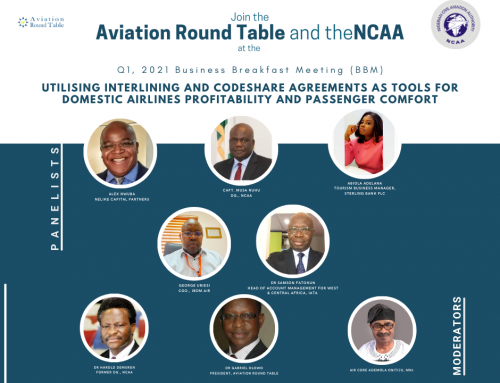 A COMMUNIQUE ISSUED AT THE END OF AVIATION SAFETY ROUND TABLE INITIATIVE (ASRTI) WEBINAR HELD ON THURSDAY, APRIL 29, 2021.